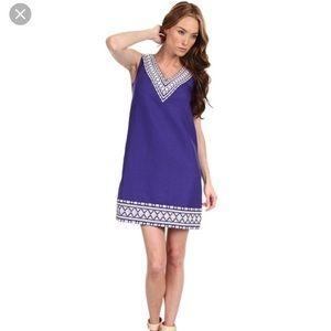 Kate Spade ♠️ Laureen Linen Embroidered Dress 10